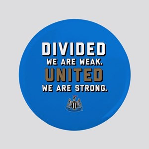 """NUFC United Strong 3.5"""" Button"""