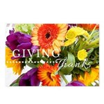 Thanksgiving Card - Fall Postcards (package Of 8)