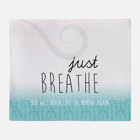 Cute Quote Throw Blanket