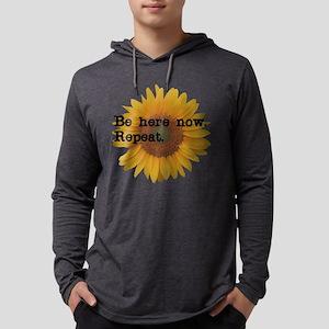 BeHereNowRepeat Small Long Sleeve T-Shirt
