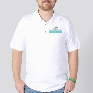 Just Breathe Golf Shirt