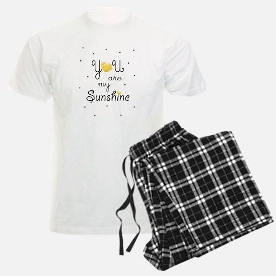 You are my sunshine - gold Pajamas