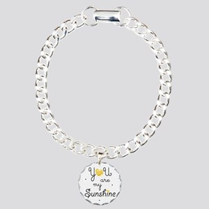 You are my sunshine - go Charm Bracelet, One Charm