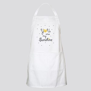 You are my sunshine - gold Apron