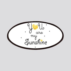 You are my sunshine - gold Patch