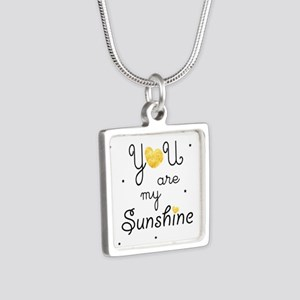 You are my sunshine - gold Necklaces