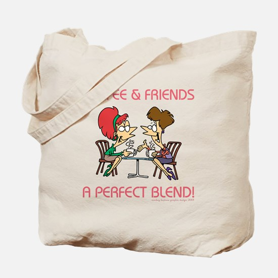 COFFEE AND FRIENDS Tote Bag