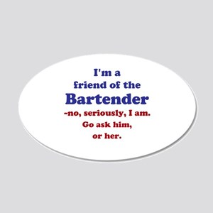 Bartenders Friend Wall Decal