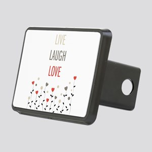 Live Laugh Love Rectangular Hitch Cover