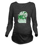 HCI LOGO Long Sleeve Maternity T-Shirt