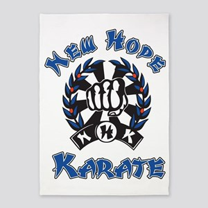 New Hope Karate 5'x7'Area Rug