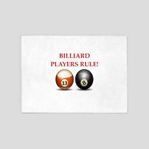 billiards joke 5'x7'Area Rug