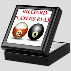 billiards joke Keepsake Box