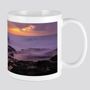 Seascape at sunset Mugs