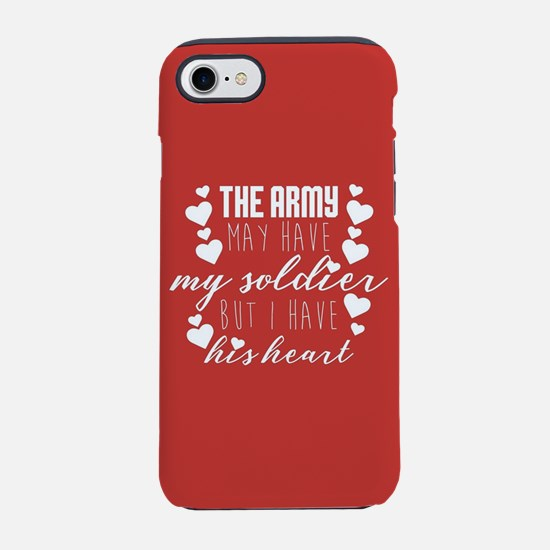 Army My Soldiers Heart iPhone 8/7 Tough Case
