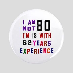 80 Birthday Designs Button