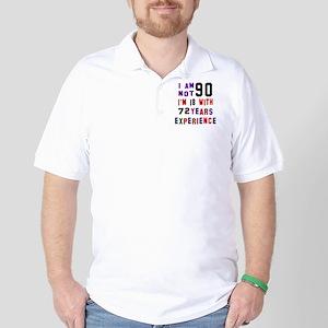 90 Birthday Designs Golf Shirt