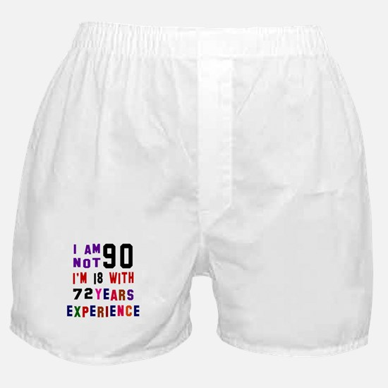 90 Birthday Designs Boxer Shorts