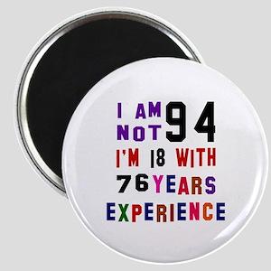 94 Birthday Designs Magnet