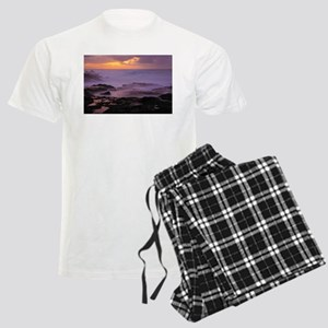 Seascape at sunset Pajamas