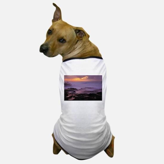 Seascape at sunset Dog T-Shirt