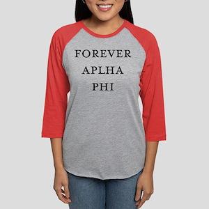 Forever Alpha Phi Womens Baseball Tee