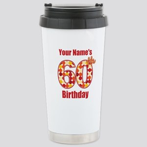Happy 60th Birthday - Personalized! Mugs