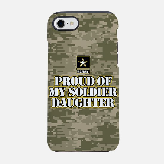 Proud Army Dad iPhone 8/7 Tough Case