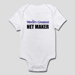 Worlds Greatest NET MAKER Infant Bodysuit