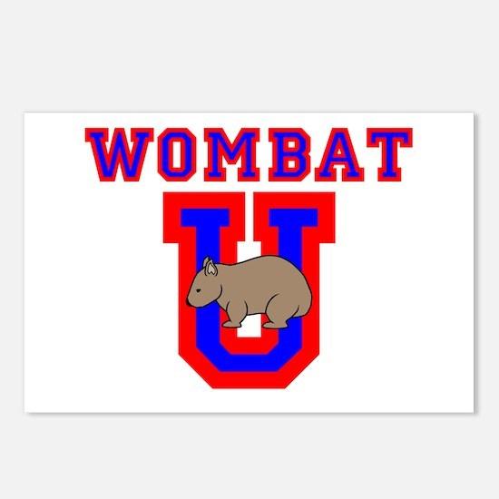Wombat U II Postcards (Package of 8)