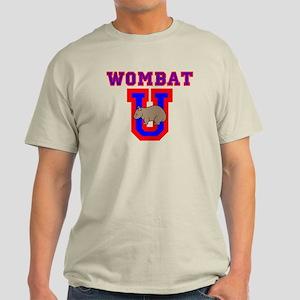 Wombat U II Light Colored T-Shirt