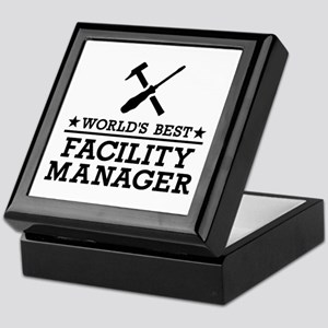 World's best Facility Manager Keepsake Box
