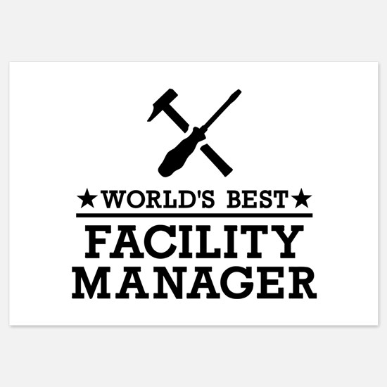 World's best Facility Manager Invitations