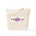 Yeshua & Star of David Tote Bag