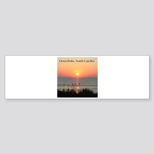 Outer Banks Sunrise Bumper Sticker