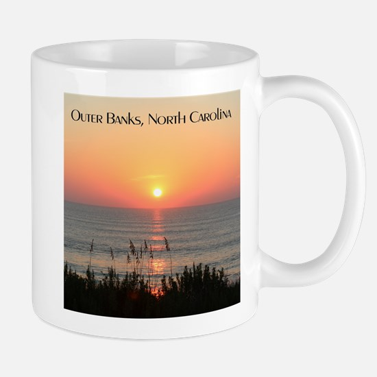 Outer Banks Sunrise Mugs
