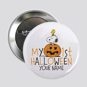 """Snoopy - My 1st Halloween 2.25"""" Button"""