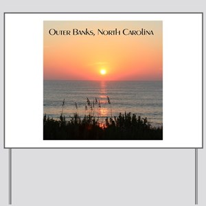 Outer Banks Sunrise Yard Sign