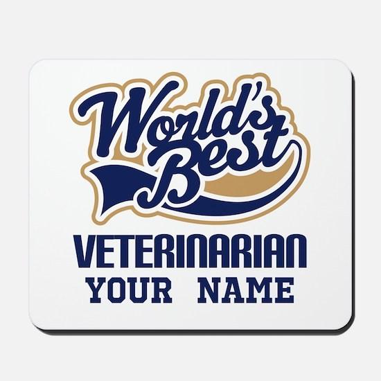Veterinarian Personalized Mousepad