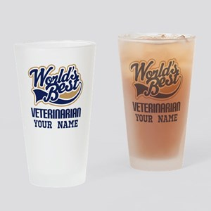 Veterinarian Personalized Drinking Glass