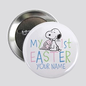"Snoopy - My 1st Easter 2.25"" Button"