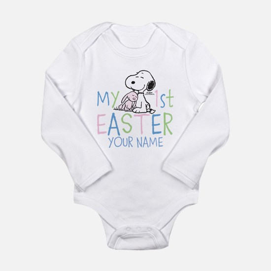 Snoopy - My 1st Easter Long Sleeve Infant Bodysuit