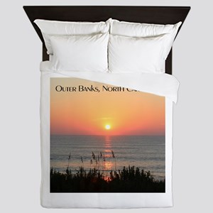 Outer Banks Sunrise Queen Duvet