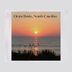 Outer Banks Sunrise Throw Blanket