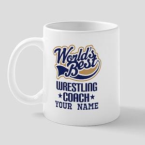 Wrestling Coach Custom Mugs