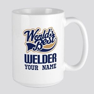 Worlds Best Welder gift Mugs