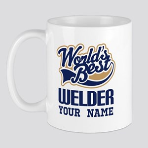 Worlds Best Welder Gift Mugs