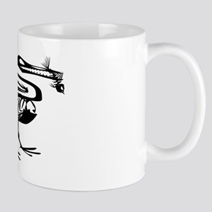 Dinosaur Eating Fish Mugs