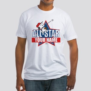 Snoopy All Star - Personalized Fitted T-Shirt