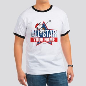 Snoopy All Star - Personalized Ringer T